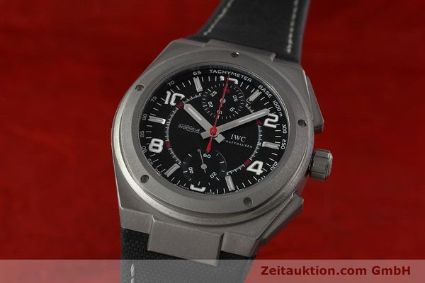 Used luxury watch IWC Ingenieur AMG chronograph titanium automatic Kal. 79350 Ref. 3725  | 152308 04