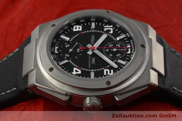 Used luxury watch IWC Ingenieur AMG chronograph titanium automatic Kal. 79350 Ref. 3725  | 152308 05