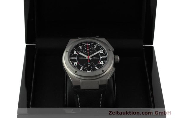 Used luxury watch IWC Ingenieur AMG chronograph titanium automatic Kal. 79350 Ref. 3725  | 152308 07