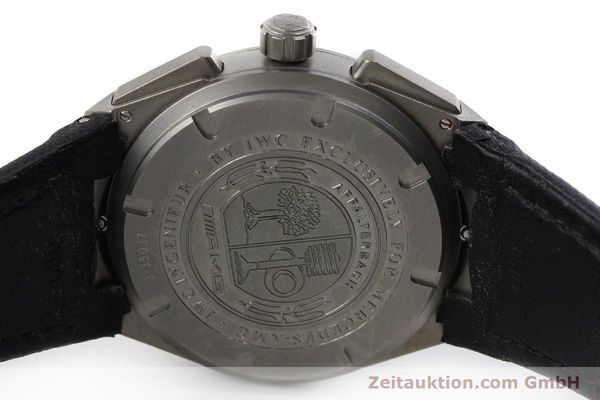 Used luxury watch IWC Ingenieur AMG chronograph titanium automatic Kal. 79350 Ref. 3725  | 152308 09