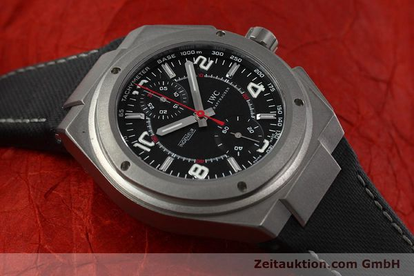 Used luxury watch IWC Ingenieur AMG chronograph titanium automatic Kal. 79350 Ref. 3725  | 152308 16