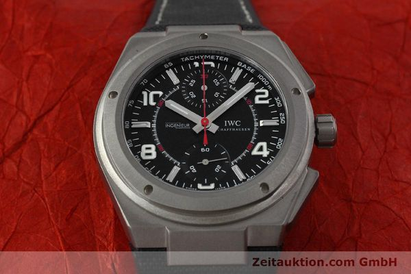 Used luxury watch IWC Ingenieur AMG chronograph titanium automatic Kal. 79350 Ref. 3725  | 152308 17