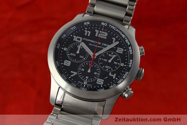 PORSCHE DESIGN DASHBORD CHRONOGRAPHE TITANE AUTOMATIQUE KAL. ETA 2894-2 LP: 4300EUR [152315]
