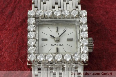 OMEGA 18 CT WHITE GOLD MANUAL WINDING KAL. 650 [152316]