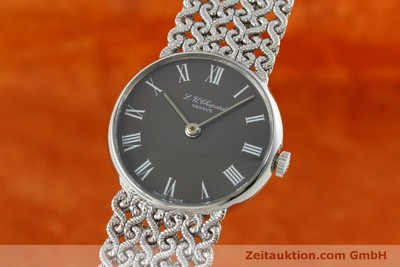 CHOPARD 18 CT WHITE GOLD MANUAL WINDING KAL. FELSA 4130 [152317]