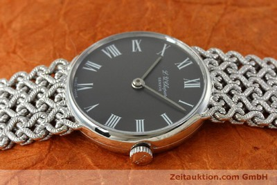 CHOPARD ORO BLANCO DE 18 QUILATES CUERDA MANUAL KAL. FELSA 4130 [152317]