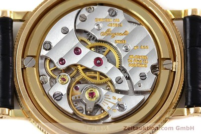 BREGUET CLASSIQUE 18 CT GOLD MANUAL WINDING KAL. 818/4 LP: 11700EUR [152325]