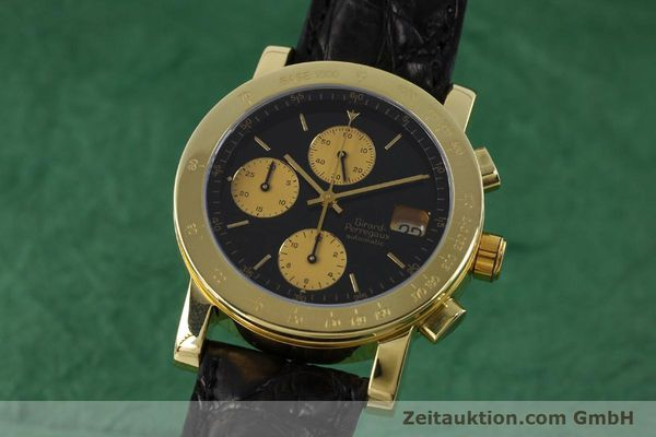 GIRARD PERREGAUX 7000 CHRONOGRAPHE OR 18 CT AUTOMATIQUE KAL. 800-814 LP: 27500EUR [152335]