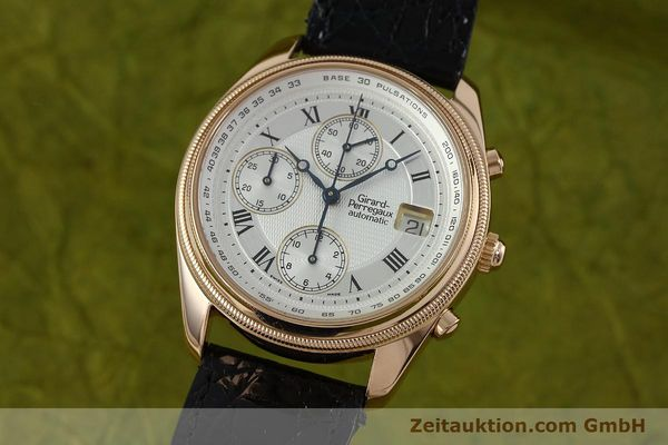 GIRARD PERREGAUX GP 4900 CHRONOGRAPHE OR 18 CT AUTOMATIQUE KAL. 8000-464 LP: 27500EUR  [152336]