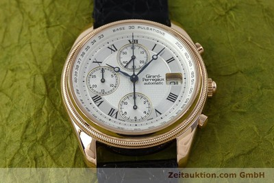 GIRARD PERREGAUX GP 4900 CHRONOGRAPH 18 CT GOLD AUTOMATIC KAL. 8000-464 LP: 27500EUR [152336]