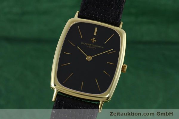 VACHERON CONSTANTIN 18K (0,750) GOLD HERRENUHR MEDIUM HANDAUFZUG VP: 27200,- EUR [152340]