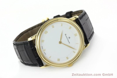 BLANCPAIN VILLERET 18 CT GOLD MANUAL WINDING KAL. 21 LP: 10910EUR [152343]