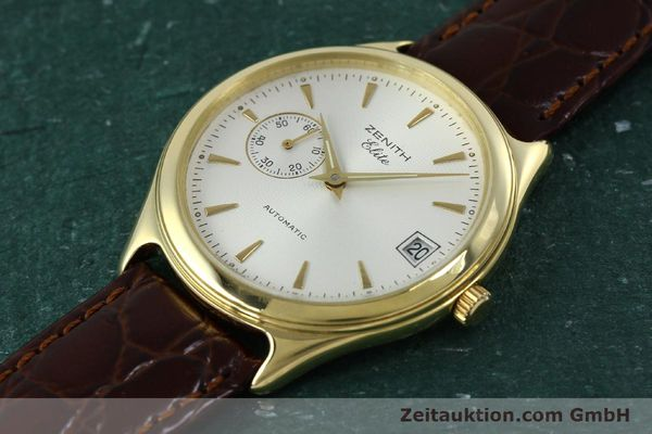 Used luxury watch Zenith Elite 18 ct gold automatic Kal. 680 Ref. 90/30 0040 680  | 152351 01