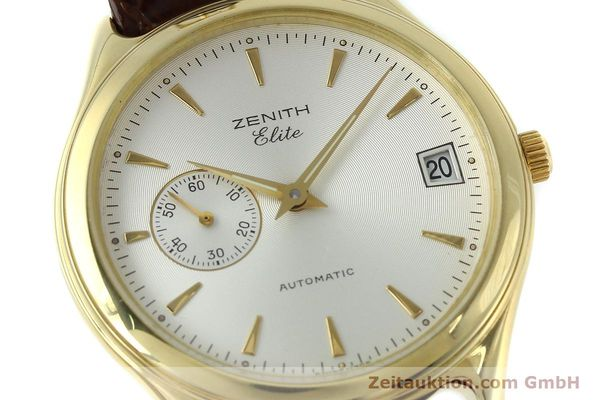Used luxury watch Zenith Elite 18 ct gold automatic Kal. 680 Ref. 90/30 0040 680  | 152351 02