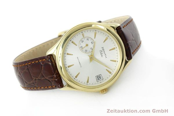 Used luxury watch Zenith Elite 18 ct gold automatic Kal. 680 Ref. 90/30 0040 680  | 152351 03