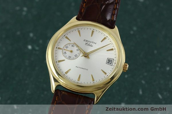 Used luxury watch Zenith Elite 18 ct gold automatic Kal. 680 Ref. 90/30 0040 680  | 152351 04