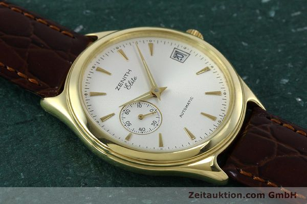 Used luxury watch Zenith Elite 18 ct gold automatic Kal. 680 Ref. 90/30 0040 680  | 152351 12