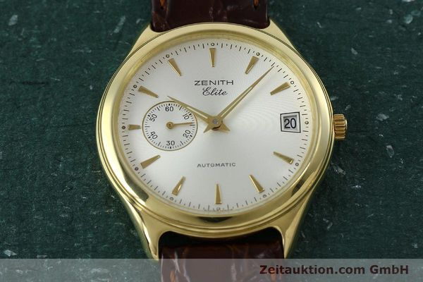 Used luxury watch Zenith Elite 18 ct gold automatic Kal. 680 Ref. 90/30 0040 680  | 152351 13