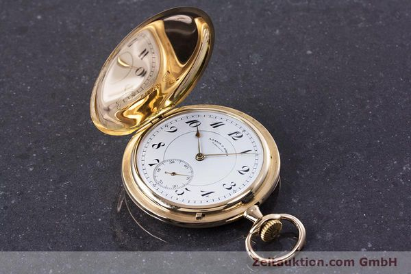 Used luxury watch A. Lange & Söhne ALS Pocket Watch 14 ct yellow gold manual winding Kal. 43  | 152353 01