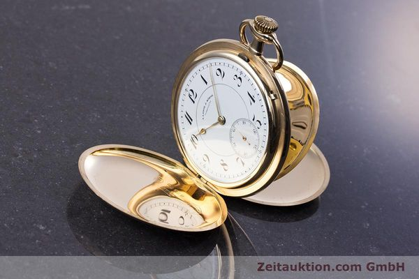 Used luxury watch A. Lange & Söhne ALS Pocket Watch 14 ct yellow gold manual winding Kal. 43  | 152353 03