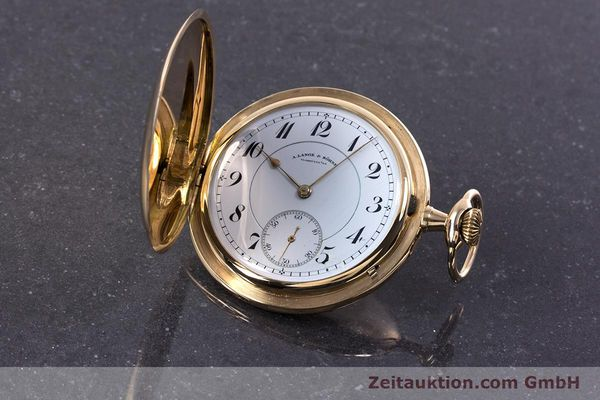 Used luxury watch A. Lange & Söhne ALS Pocket Watch 14 ct yellow gold manual winding Kal. 43  | 152353 04