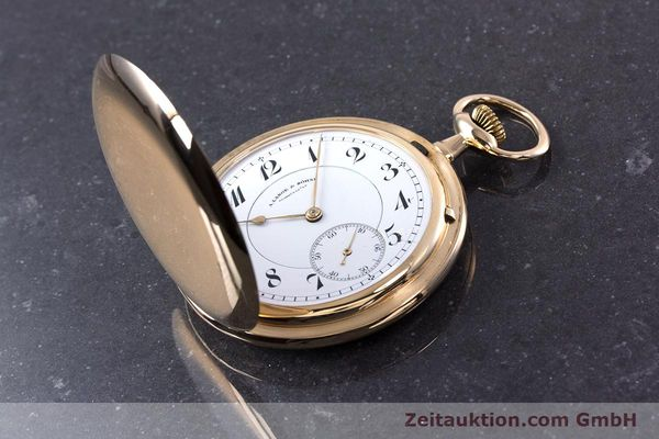 Used luxury watch A. Lange & Söhne ALS Pocket Watch 14 ct yellow gold manual winding Kal. 43  | 152353 16