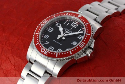 LONGINES HYDRO CONQUEST STEEL QUARTZ KAL. L115.2 ETA 955112 LP: 830EUR [152358]