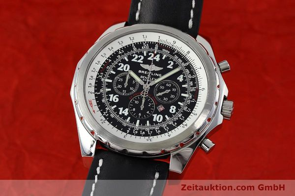 BREITLING BENTLEY CHRONOGRAPHE ACIER AUTOMATIQUE KAL. B22 ETA 2892A2 LP: 7750EUR [152370]