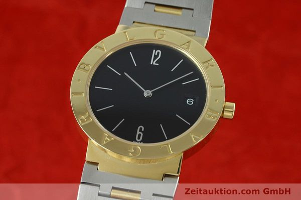 BULGARI 18K (0,750) GOLD BVLGARI HERRENUHR BB 33 GS MEDIUM DATUM VP: 5300,- EURO [152388]