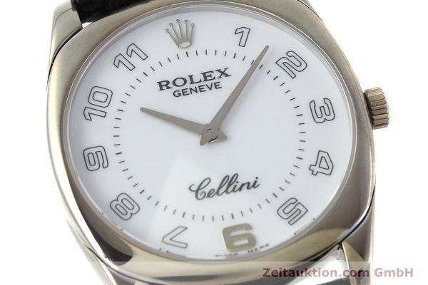 Used luxury watch Rolex Cellini 18 ct white gold manual winding Kal. 1602 Ref. 4233  | 152391 02