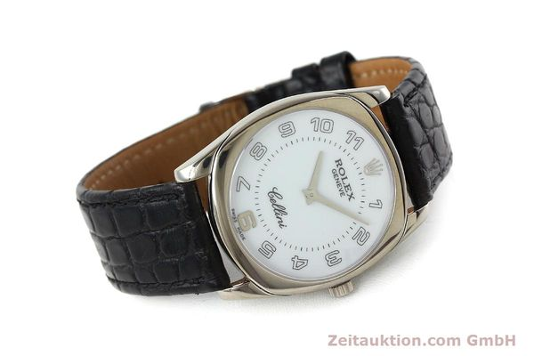 Used luxury watch Rolex Cellini 18 ct white gold manual winding Kal. 1602 Ref. 4233  | 152391 03