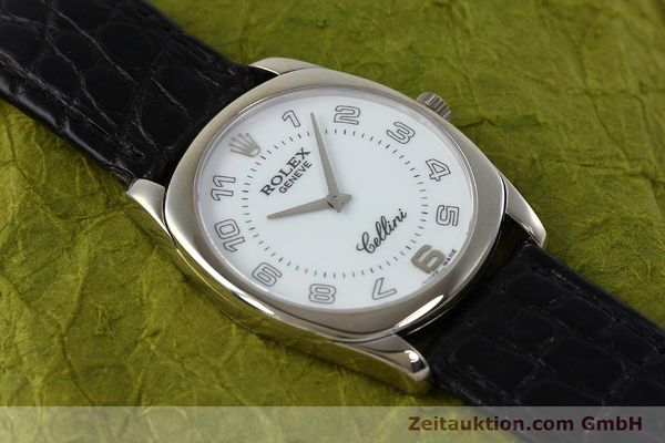 Used luxury watch Rolex Cellini 18 ct white gold manual winding Kal. 1602 Ref. 4233  | 152391 15