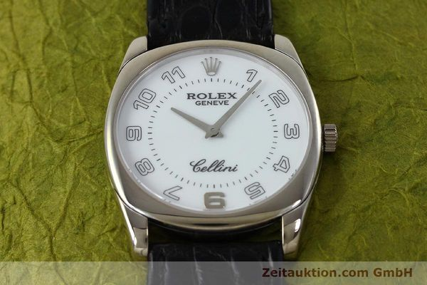 Used luxury watch Rolex Cellini 18 ct white gold manual winding Kal. 1602 Ref. 4233  | 152391 16
