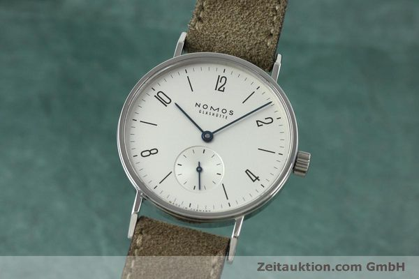 NOMOS TANGENTE STEEL MANUAL WINDING KAL. ALPHA 92474 LP: 1260EUR [152393]