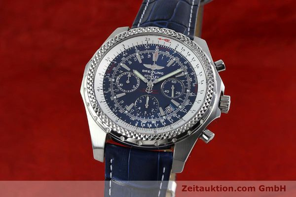 BREITLING FOR BENTLEY MOTORS T CHRONOGRAPH AUTOMATIK STAHL A25363 VP: 7750,- Euro [152397]