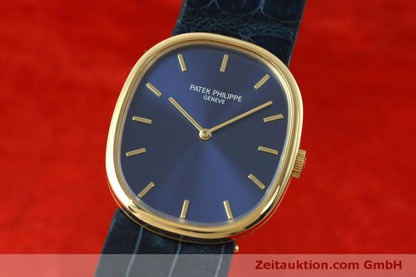 PATEK PHILIPPE 18K (0,750) GOLD ELLIPSE D´OR HANDAUFZUG 3548 MEDIUM VP: 19930,-Euro [152411]