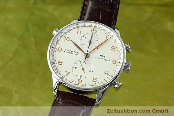 IWC PORTUGIESER CHRONOGRAPH STEEL MANUAL WINDING KAL. 76240 LP: 11100EUR [152413]