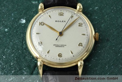 ROLEX 9 CT GOLD MANUAL WINDING KAL. 710 VINTAGE [152417]