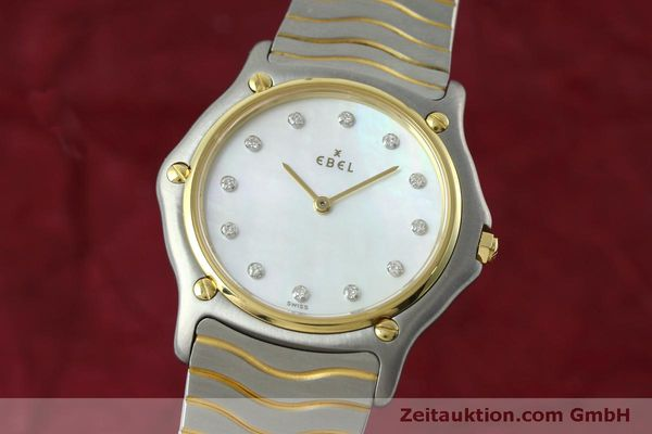 EBEL CLASSIC WAVE STAHL / GOLD MEDIUM CLASSICWAVE DIAMANTEN VP: 2700,- EURO [152423]