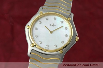 EBEL CLASSIC WAVE STEEL / GOLD QUARTZ KAL. 81 [152423]