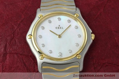 EBEL CLASSIC WAVE ACIER / OR QUARTZ KAL. 81 [152423]