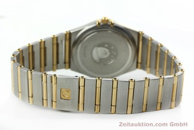 OMEGA LADYCONSTELLATION STAHL / GOLD DAMENUHR DIAMANTEN VP: 6600,- EURO [152424]