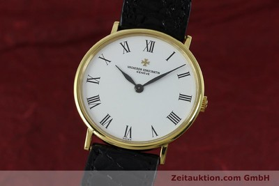 VACHERON & CONSTANTIN 18 CT GOLD MANUAL WINDING KAL. 1015 [152427]