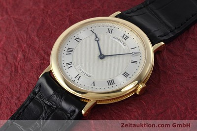 BREGUET 18K GOLD CLASSIQUE AUTOMATIQUE AUTOMATIK MEDIUM VP: 11900,- EURO [152430]