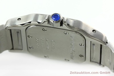 CARTIER SANTOS STEEL QUARTZ KAL. 157 LP: 3850EUR [152436]