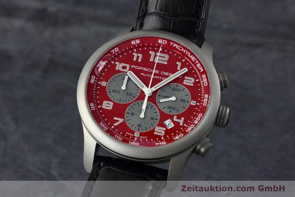 PORSCHE DESIGN DASHBORD CHRONOGRAPHE TITANE AUTOMATIQUE KAL. ETA 2894-2 LP: 4300EUR [152438]