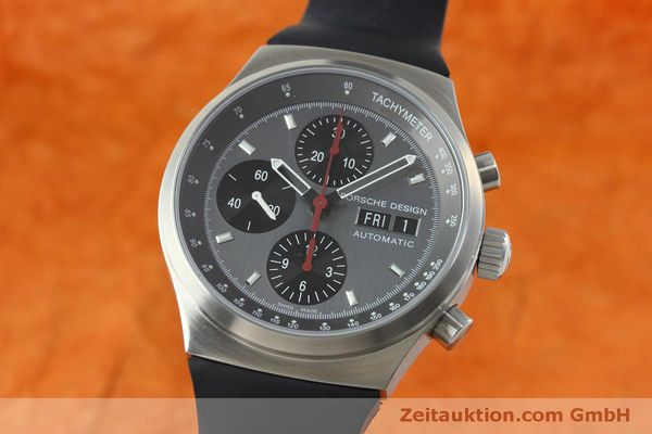 PORSCHE DESIGN BY ETERNA DAY DATE CHRONOGRAPH STAHL 6625 VP: 4300,- EURO [152441]