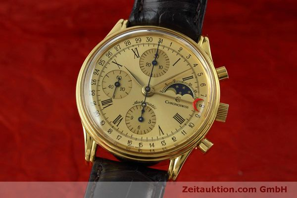 CHRONOSWISS LUNAR CHRONOGRAPH GOLD-PLATED AUTOMATIC KAL. ETA 7750 [152443]