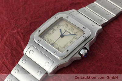 CARTIER SANTOS STEEL QUARTZ KAL. 87 LP: 5000EUR [152451]