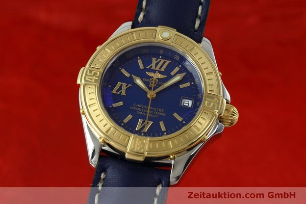 Used luxury watch Breitling B-Class steel / gold quartz Kal. B67 Ref. D67365  | 152455 04